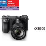 Camera foto digitala compacta SONY Alpha A6500 Z + Obiectiv 16-70mm ZA OSS