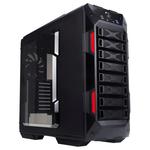 Carcasa In Win GRone negru-rosu, 2 x USB 2.0, 2 x USB 3.0, EATX