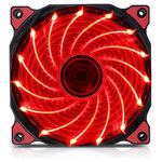 Ventilator SEGOTEP Polar Wind Red, 120mm, POLARWND-RD