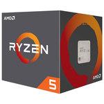 Procesor AMD Ryzen 5 1500X, 3.6GHz/3.7GHz, 16MB, YD150XBBAEBOX