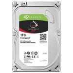 Hard Disk desktop Seagate IronWolf NAS 1TB, 5900RPM, SATA3, 64MB, ST1000VN002