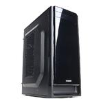 Carcasa ZALMAN T2 Plus, 1 x USB 3.0, 1 x USB 2.0, mATX, mini ITX, negru