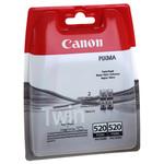 Cartus CANON PGI-520BK Twin, negru