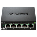 Switch D-LINK DES-105, 5 porturi, negru