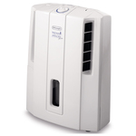 Dezumidificator de aer DE LONGHI DES12, 3l, 180W, alb