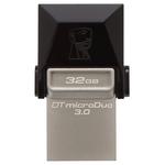 Memorie portabila KINGSTON DataTraveler microDuo 3.0, 32GB, USB 3.0, micro USB, negru