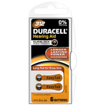 Baterii zinc-aer DURACELL DA 312 pentru aparat auditiv