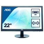 """Monitor LED AOC E2275SWJ, 21.5"""", Full HD, negru"""