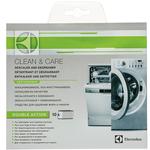 Anticalcar + Degresant masini de spalat rufe sau vase ELECTROLUX E6WMG100