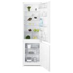 Combina frigorifica incorporabila ELECTROLUX ENN2812AOW, 277 l, 177.2 cm,  A++, alb