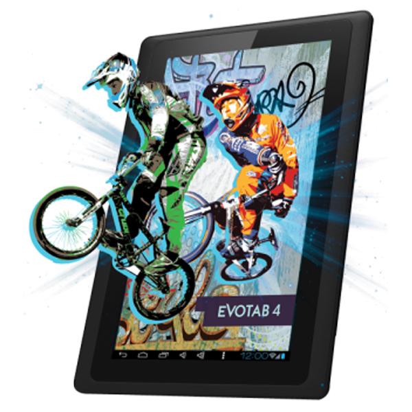 """Tableta EVOLIO Evotab 4, Wi-Fi, 7.0"""", Cortex A9 1.0GHz, 4GB, 512MB DDR3, Android 4.1"""