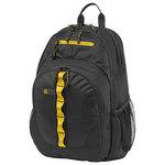 """Rucsac laptop HP F3W17AA, 15.6"""", negru-galben"""