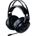 Casti gaming RAZER Thresher Ultimate Wireless PS4, negru-albastru