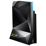 Router Wireless Gaming ASROCK G10 AC 2600, Dual-Band 800 + 1733 Mbps, USB 3.0, negru + H2R 300 Mbps