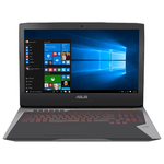 "Laptop ASUS ROG G752VS(KBL)-BA263T, Intel® Core™ i7-7700HQ pana la 3.8GHz, 17.3"" Full HD, 16GB, HDD 1TB + SSD 256GB, NVIDIA GeForce GTX 1070 8GB, Windows 10"