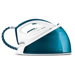 Statie de calcat PHILIPS SpeedCare GC6616/20, 1.2l, 4.5 bari, jet de abur 160g, debit constant 100g/min, alb-albastru
