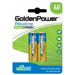 Baterii alcaline GOLDEN POWER Plus, R6(AA), 2 bucati