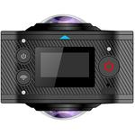 Camera video Virtual Reality 360°, Full HD , 960p, HGMZNX360, neagra