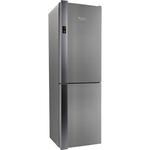 Combina frigorifica No Frost HOTPOINT XH8 T4Z XOJZV, 340l, A+++