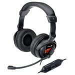 Casti PC gaming GENIUS HS-G500V, USB, 3.5mm, negru