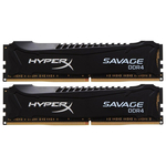 Memorie desktop Kingston HyperX Savage 2x16GB DDR4, 2400MHz, HX424C14SBK2/32