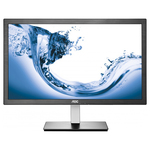 "Monitor LED IPS AOC I2276VWM, 21.5"", Full HD, negru-gri"