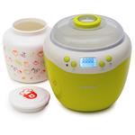 Aparat pentru preparat iaurt OURSSON FE2103D/GA, 2l, 2 programe, galben