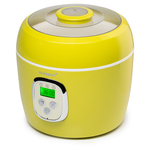 Aparat pentru preparat iaurt OURSSON FE0205D/GA, 2l, 3 programe, galben