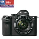 Camera foto digitala compacta SONY A7 II Kit cu obiectiv, Full frame, 24.3 Mp, 3 inch, negru