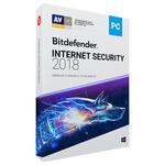 Antivirus BITDEFENDER Internet Security 2018, 1 an, 3 PC, Retail