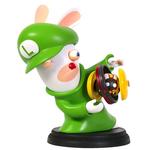 Figurina Nintendo Mario + Rabbids Kingdom Battle: Rabbid Luigi, 16.5 cm