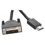 Cablu adaptor HDMI - DVI PROMATE linkMate-H4L, negru