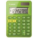 Calculator de birou CANON LS-100K, 10 cifre, verde