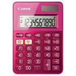 Calculator de birou CANON LS-100K, 10 cifre, roz