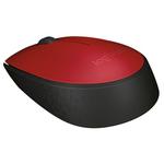 Mouse Wireless LOGITECH M171, USB, rosu