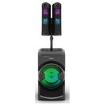 Minisistem audio SONY MHC-GT4D, Bluetooth, NFC, USB, CD, DJ Effects, Mega BASS, Party music, iluminare LED