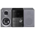 Microsistem PANASONIC SC-PM600EG-S, 40W, FM, CD, USB, Bluetooth, argintiu