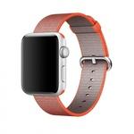 Bratara pentru APPLE Watch Seria 1, 42 mm, nylon, orange