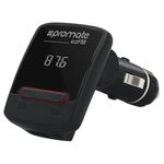 Modulator FM PROMATE ezFM, USB, negru