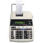 Calculator de birou CANON MP121-MG, 12 cifre, Rola, bej