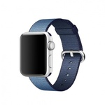 Bratara pentru APPLE Watch Seria 1, 38 mm, nylon, albastru