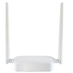 Router wireless TENDA N301, 300Mbps, WAN, LAN, alb