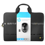 "Kit Geanta laptop + Mouse Wireless HP N3U50AA, 15.6"", negru"