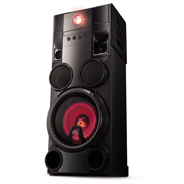 Minisistem audio Hi-Fi LG OM7560, 1000W, USB, CD, Bluetooth