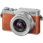 Camera foto mirrorless PANASONIC DCM-GX800, 16Mp, 3 inch + obiectiv 12-32mm, brown