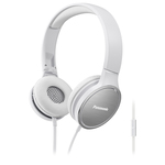 Casti on-ear cu microfon PANASONIC RP-HF500ME-W, alb