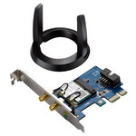 Placa de rerea Wireless ASUS PCE-AC55BT AC1200, 300 + 867 Mbps, Bluetooth 4.0