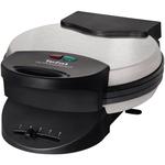 Aparat de facut waffle TEFAL WM310D11, 1000W, placi invelis anti-aderent negru-inox