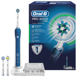 Periuta de dinti cu acumulator ORAL-B Professional 4000 Cross Action Box