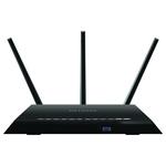 Router Wireless NETGEAR Gigabit Nighthawk R7000, Dual-Band 600 + 1300Mbps, WAN, LAN, USB 3.0, USB, 2.0, negru